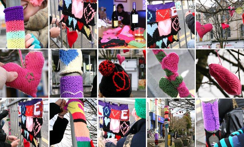 yarnarchists' Valentine's montage