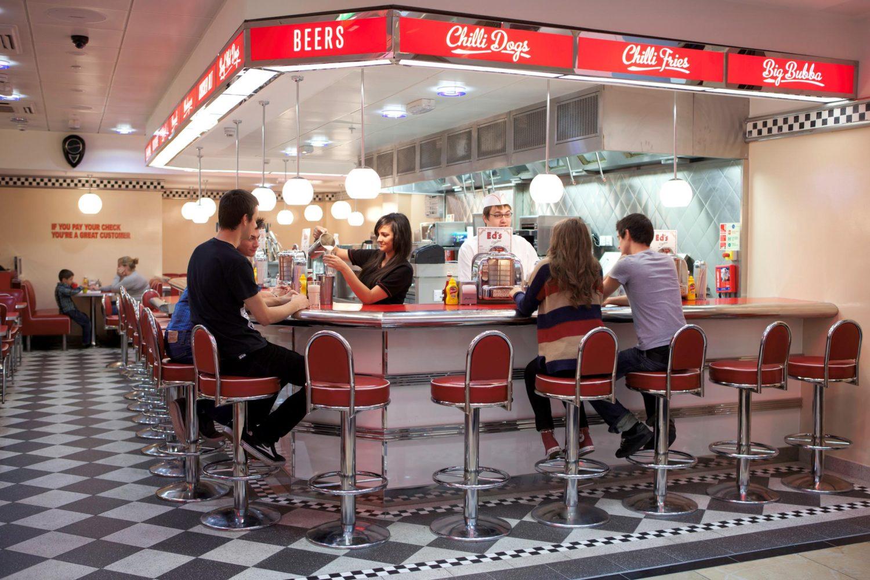 Diner Restaurant Bay Centre