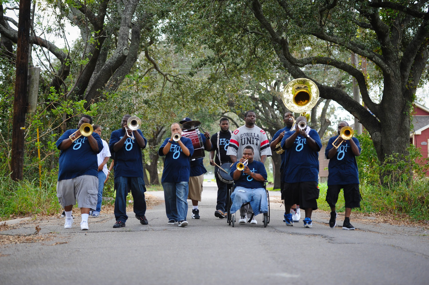 New orleans brass band sexual healing