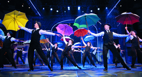 Review  Village s SINGIN  IN THE RAIN Fun but Lacks Spark Theatre Scenes singing in the rain choreography dance sets
