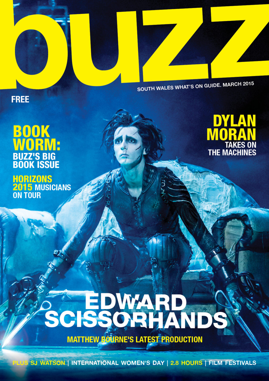 BUZZ MARCH 2015 Cover