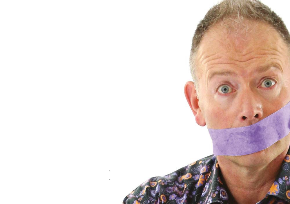 Stifyn Parri One Man Show A5 leaflet - blank space.indd